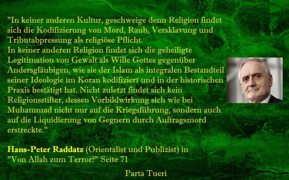 Lanz, Kienzle und der Islam