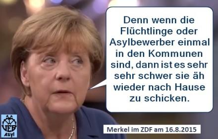 """Merkels Vorgehen in der Flüchtlingskrise """"rechtmäßig""""?"""