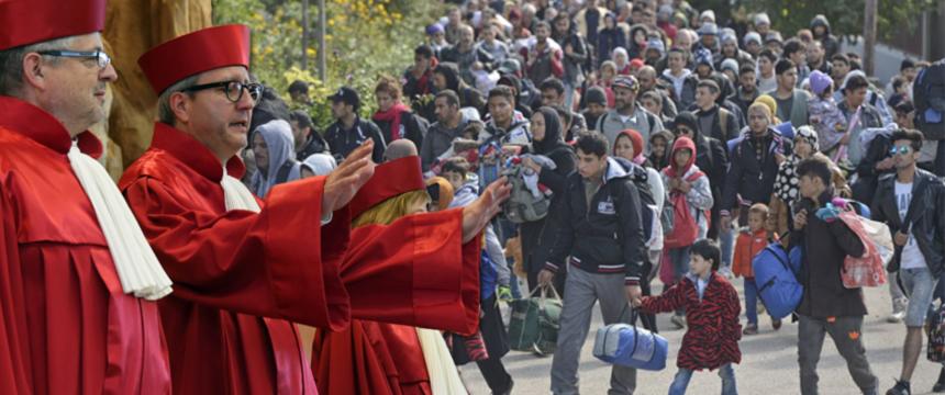 Totengräber der Demokratie: Das Schweigen des Bundesverfassungsgerichts zur Flüchtlingspolitik
